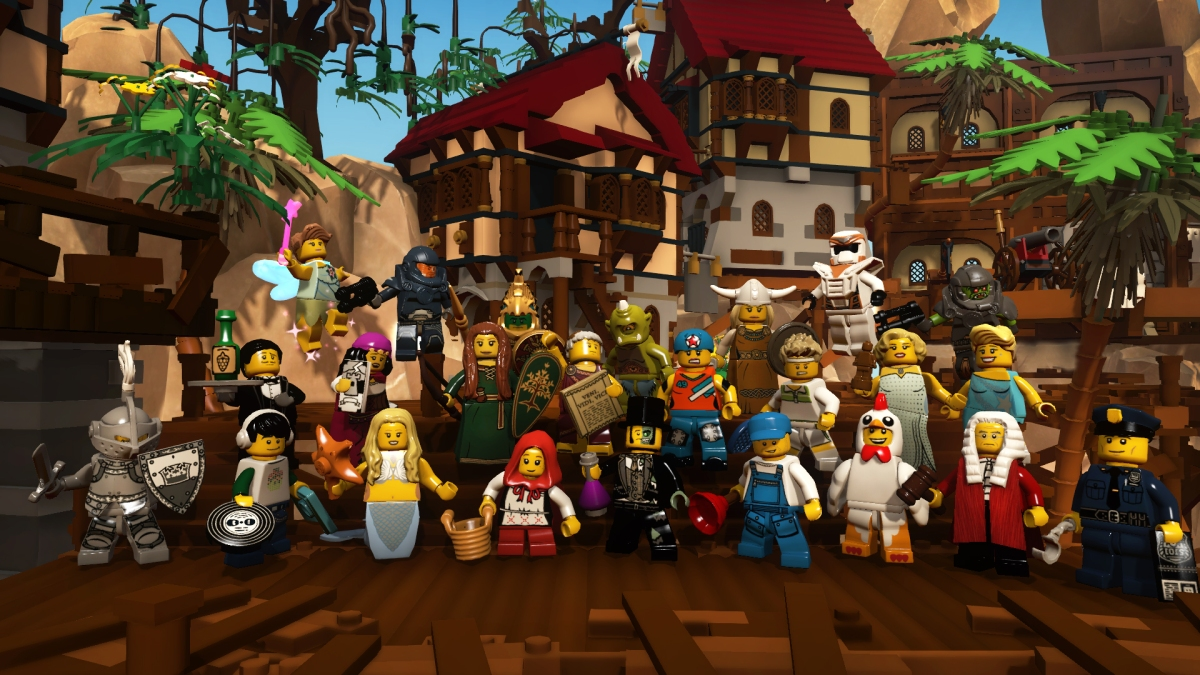 Lego Minifigures Online Preview (Multi)