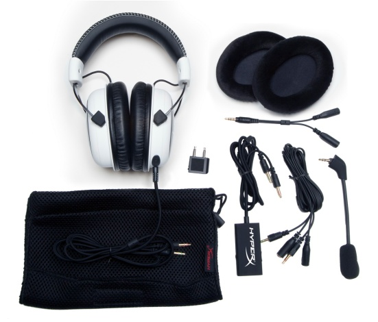 HyperX Cloud box contents