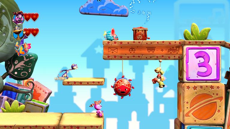JUJU in-level gameplay