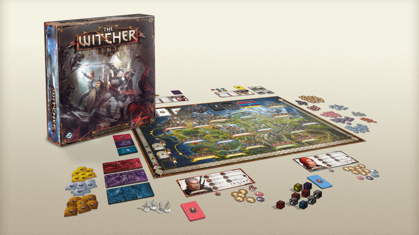 The Witcher Adventure Game review (board game)