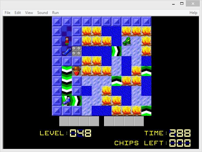 Chip's Challenge 2 - Level 48