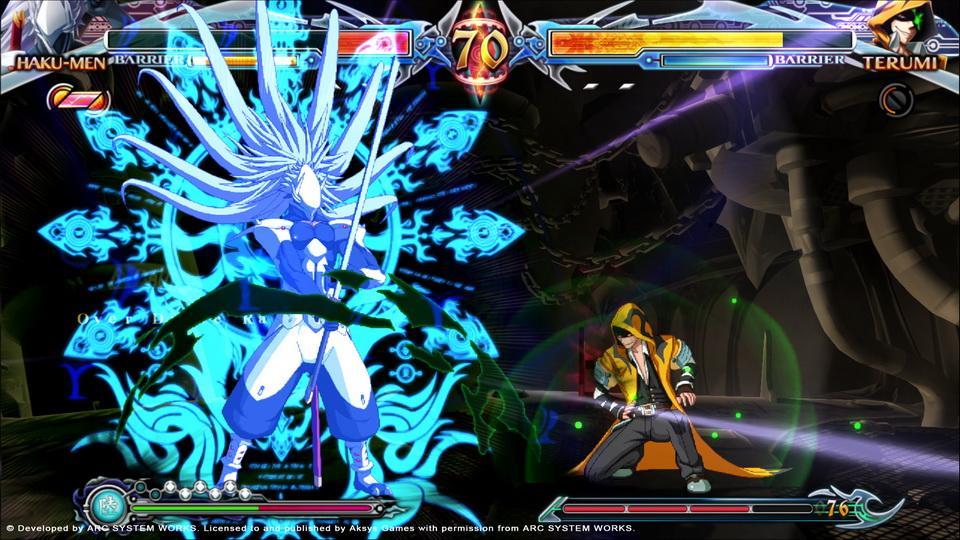 BlazBlue Chrono Phantasma Extend - Hakumen/Terumi