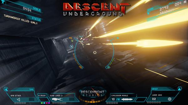 Descent: Underground preview(PC)