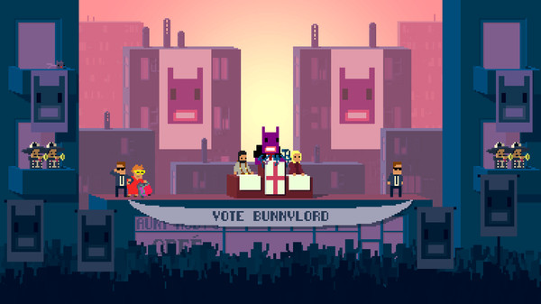 Not a Hero review(PS4)