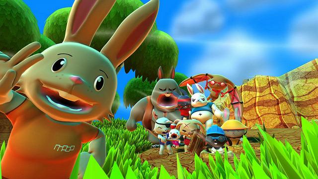 Blast 'Em Bunnies review(PS4/Vita)
