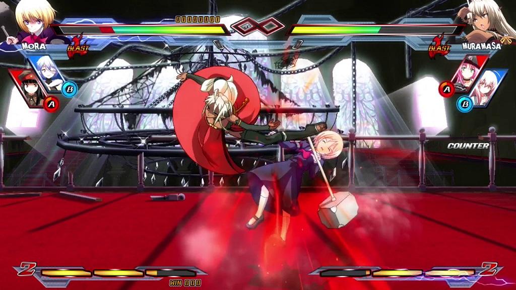 Nitroplus Blasterz: Heroines Infinite Duel review(PC)