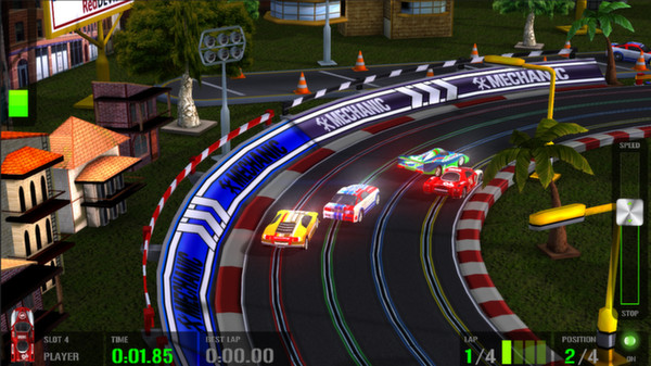 Slot car racing video game how to win at baccarat by johnny mcfarlin
