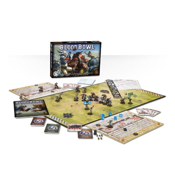 Blood Bowl (2016) review (board game)
