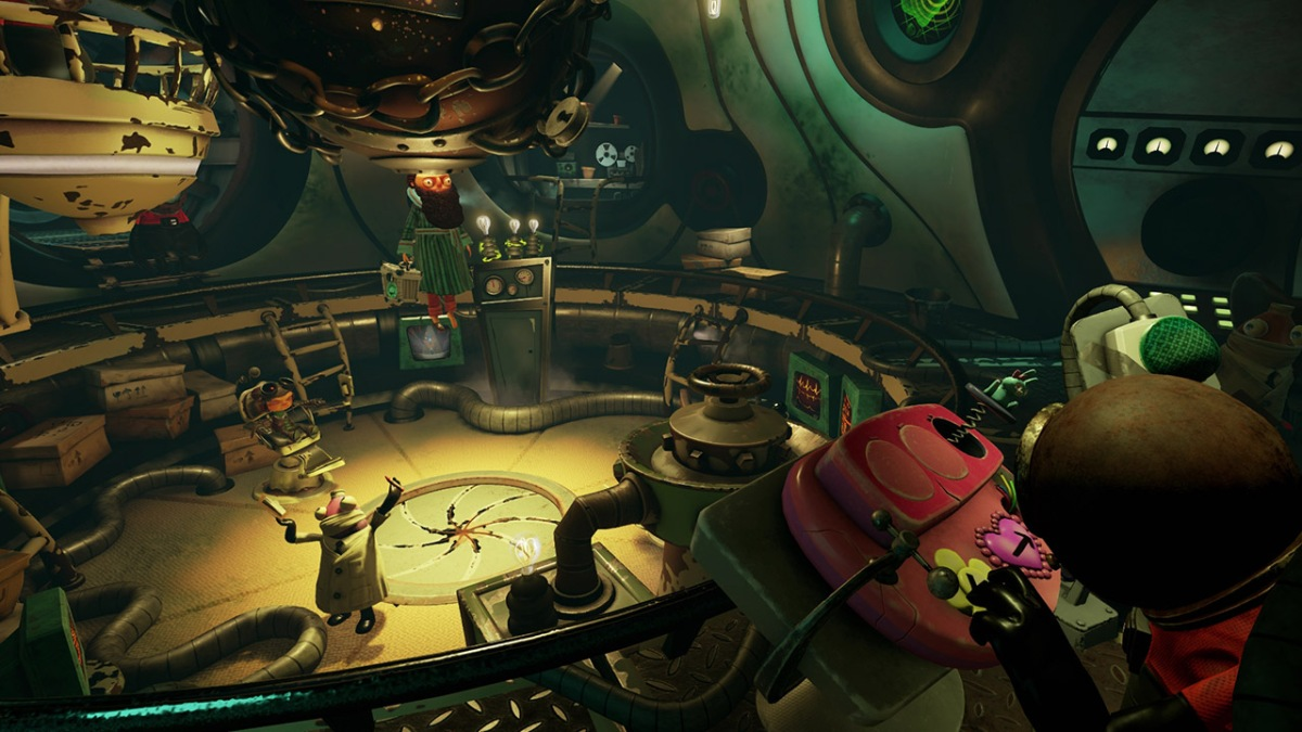 Psychonauts in the Rhombus of Ruin review (PSVR)