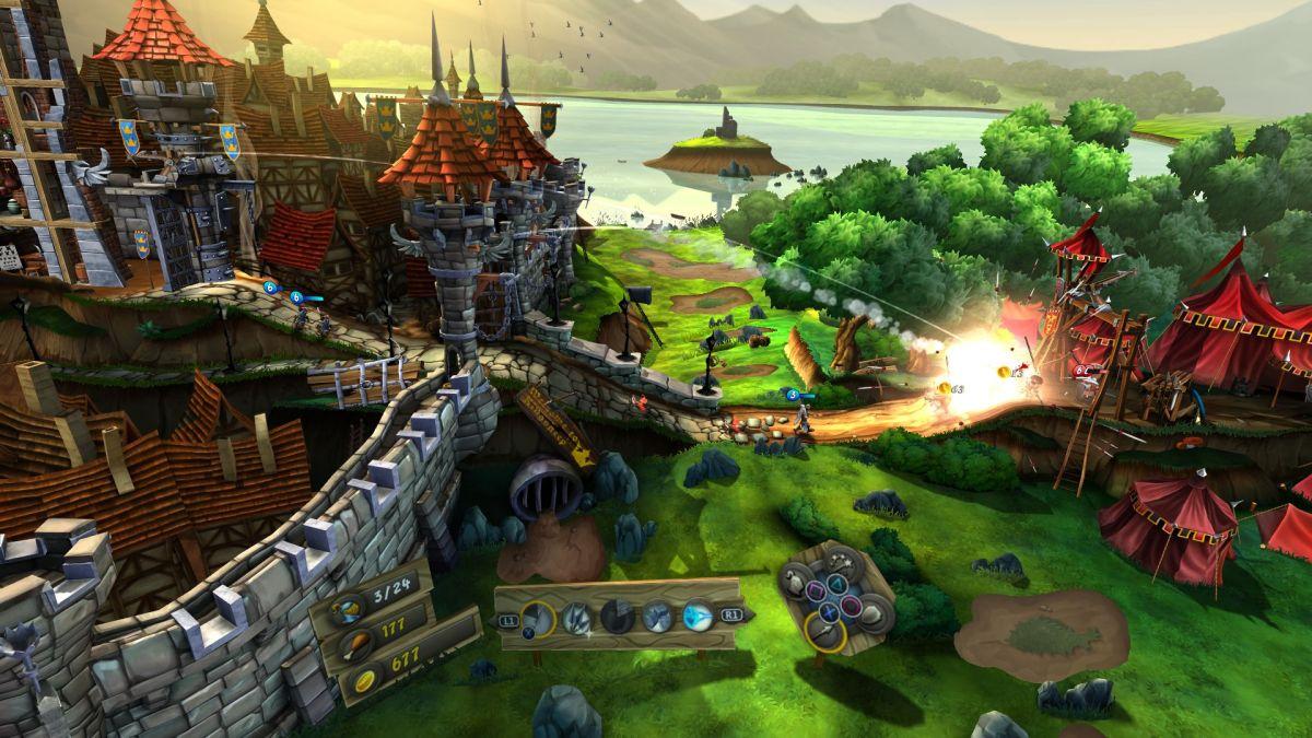 Castlestorm VR review(PSVR)