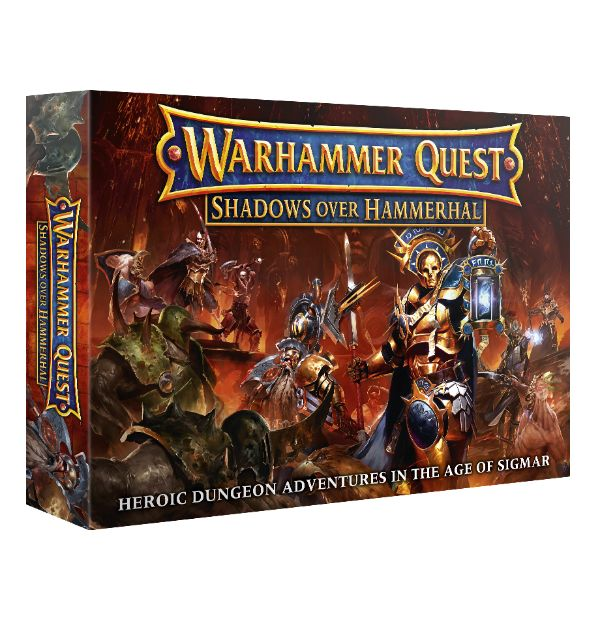 Warhammer Quest – Shadows over Hammerhal review (boardgame)