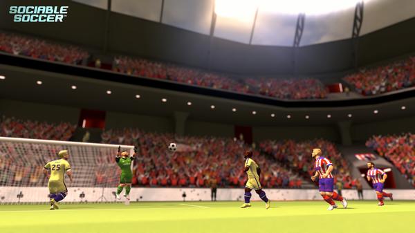 Sociable Soccer preview(PC)
