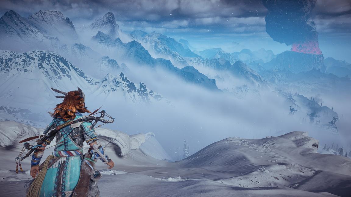 Horizon Zero Dawn: The Frozen Wilds review(PS4)