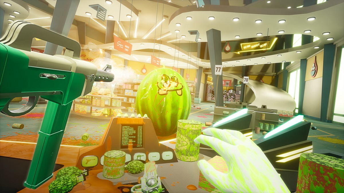 Shooty Fruity review (PSVR)