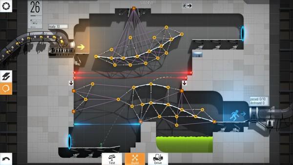 Bridge Constructor Portal review(PS4)