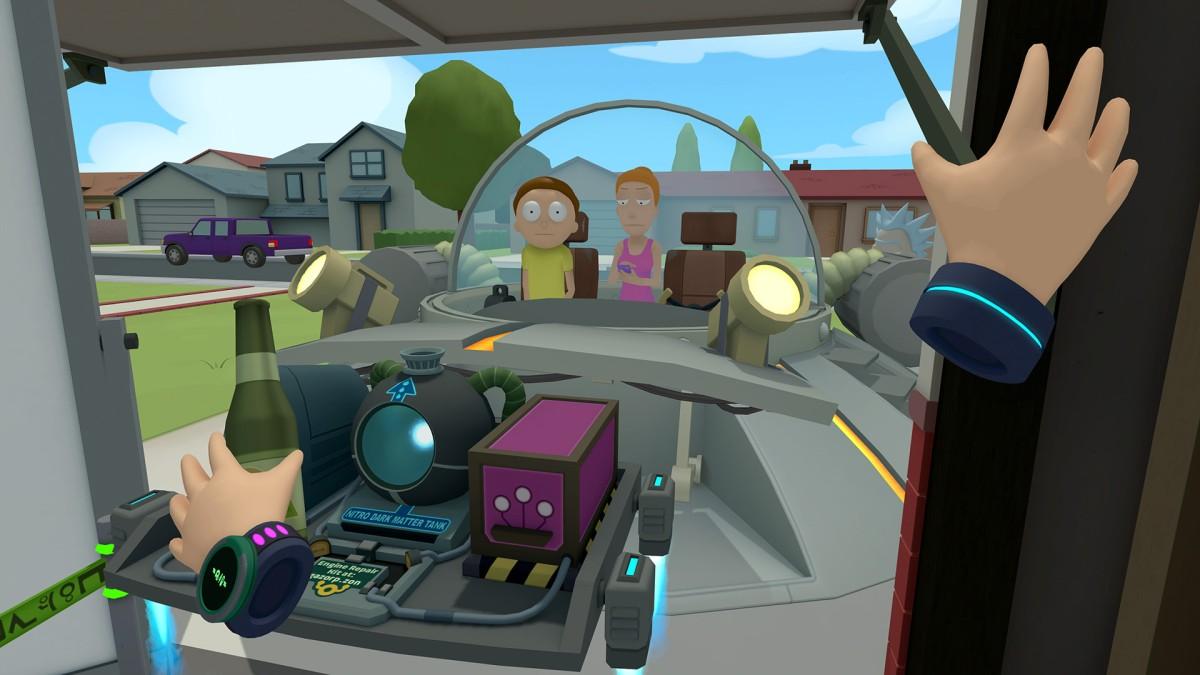 Rick and Morty: Virtual Rick-ality review(PSVR)
