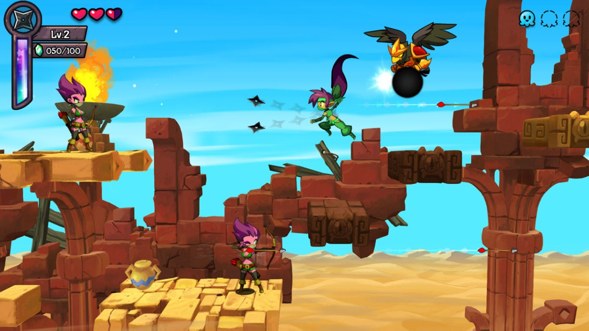 Shantae: Half-Genie Hero Ultimate Collection review(PS4)