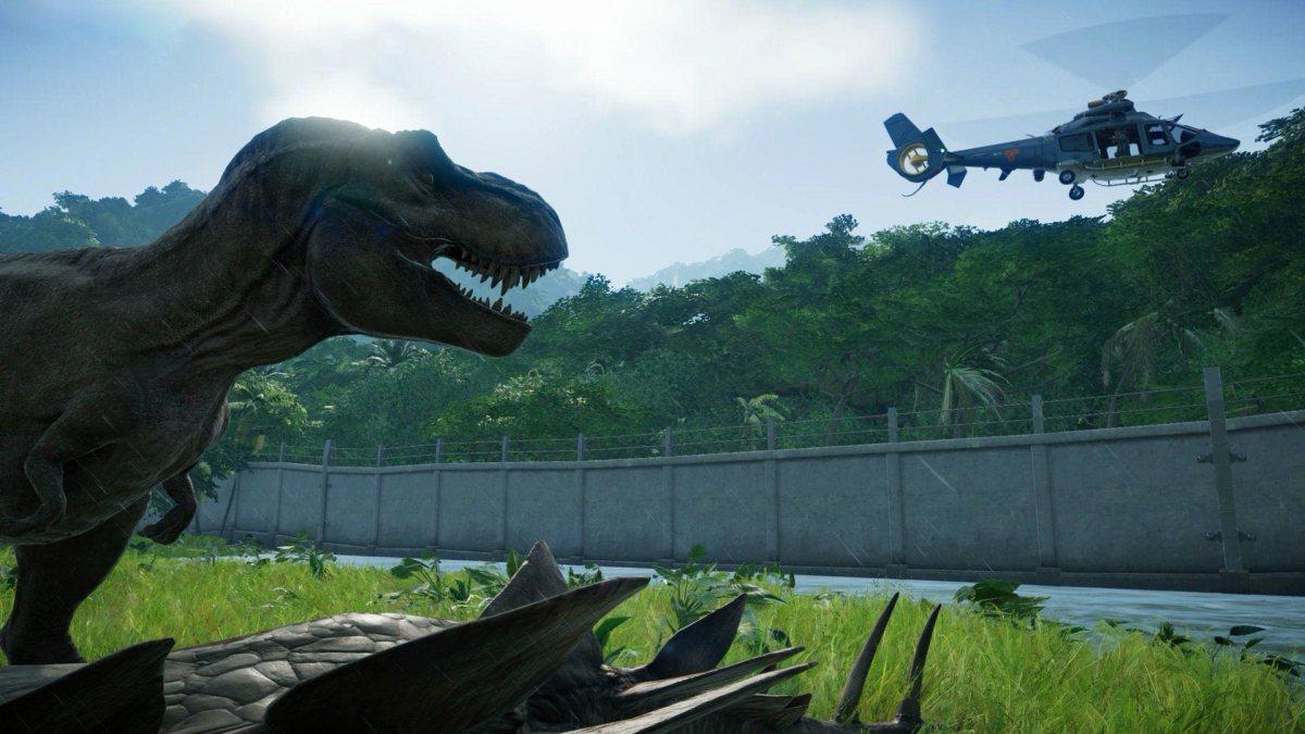 Return to Jurassic Park DLC for Jurassic World Evolution comingsoon