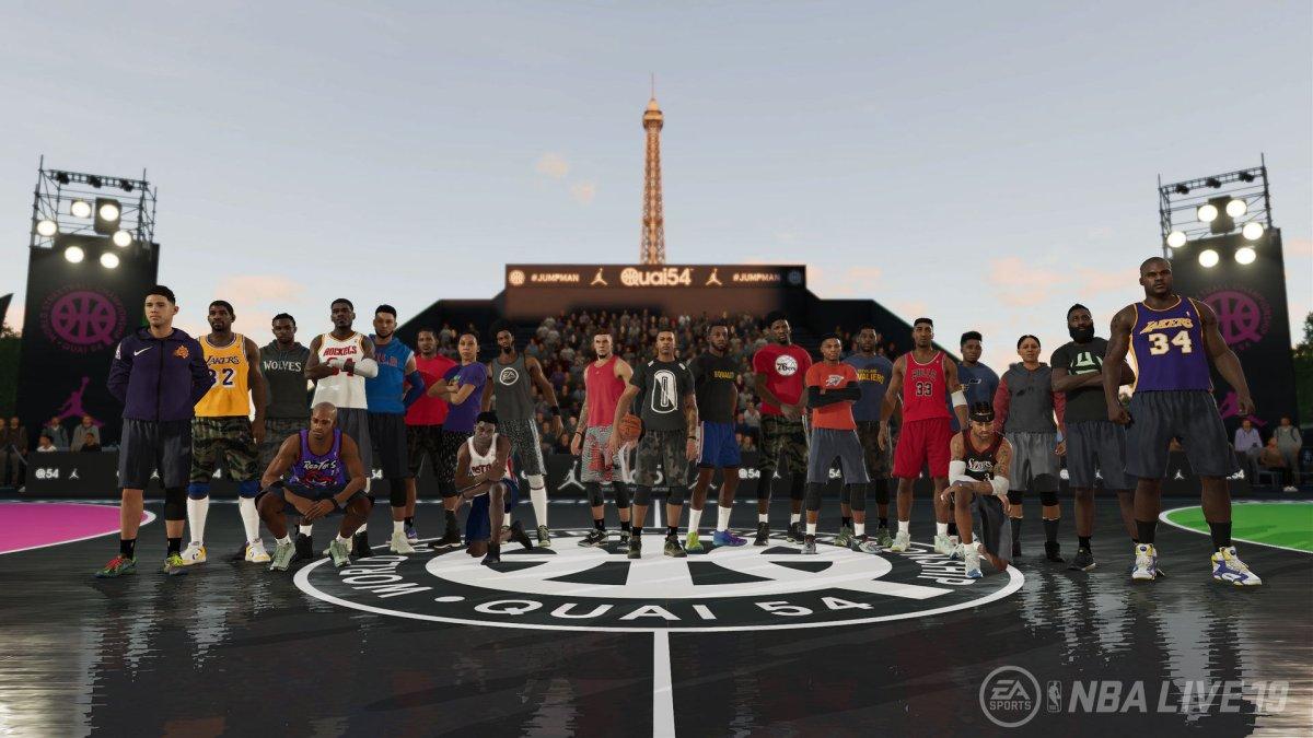 NBA Live 19 review (XboxOne)