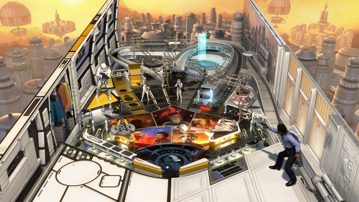 Pinball FX3: Solo – A Star Wars Story review (PS4)