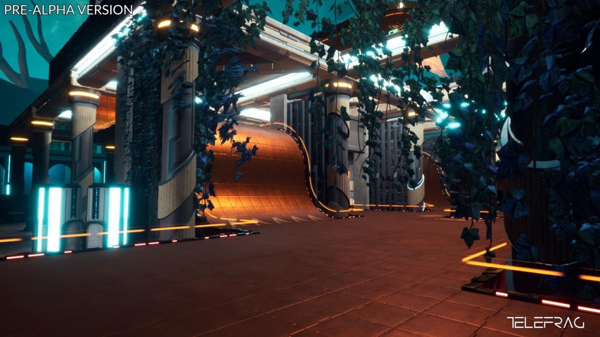 Telefrag VR preview(Gamescom)