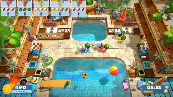 Overcooked 2: Surf 'n Turf review (PS4)