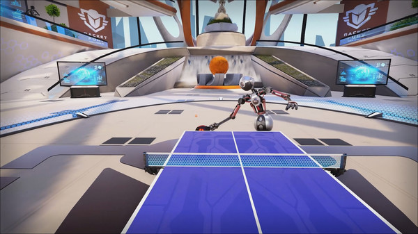 racket fury - table tennis vr