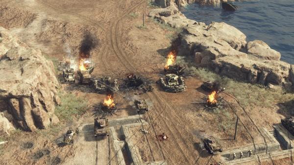 sudden strike 4 - africa desert war3
