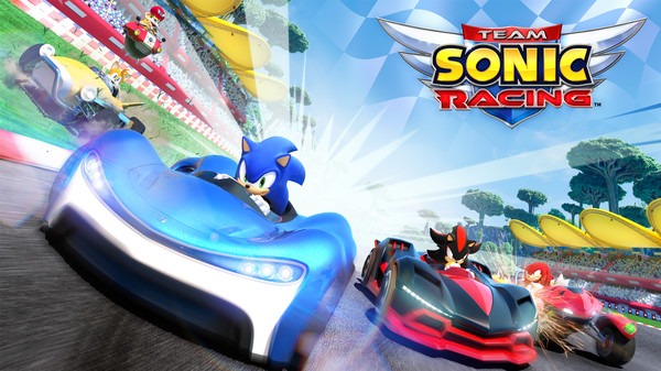 Team Sonic Racing preview(multi)