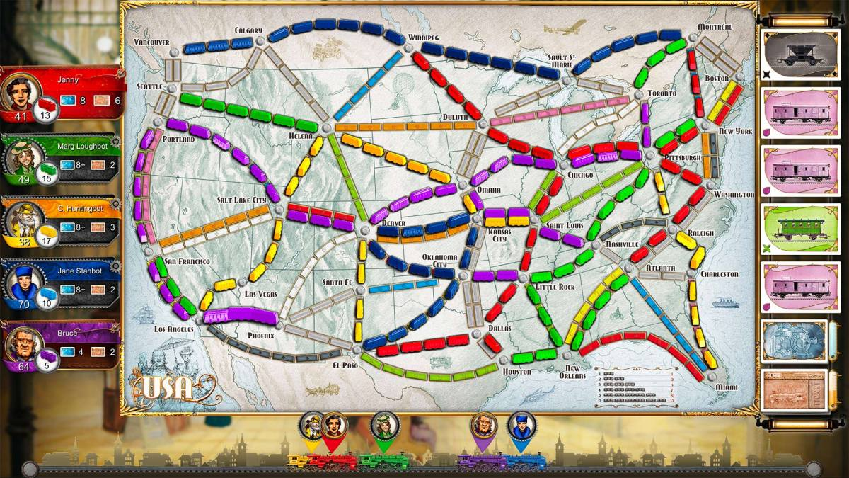 Ticket to Ride now on Playlink – impressions and interview (PS4)