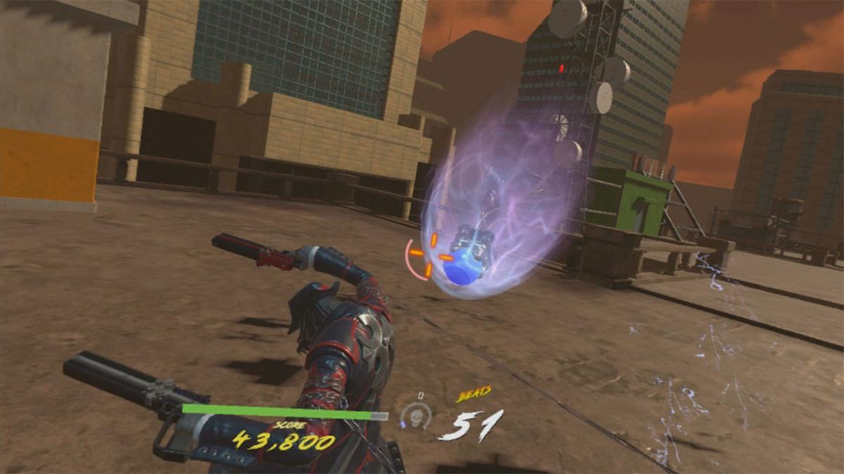 Gungrave VR review(PSVR)