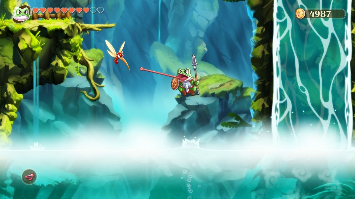 Monster Boy and the Cursed Kingdom review(PS4)