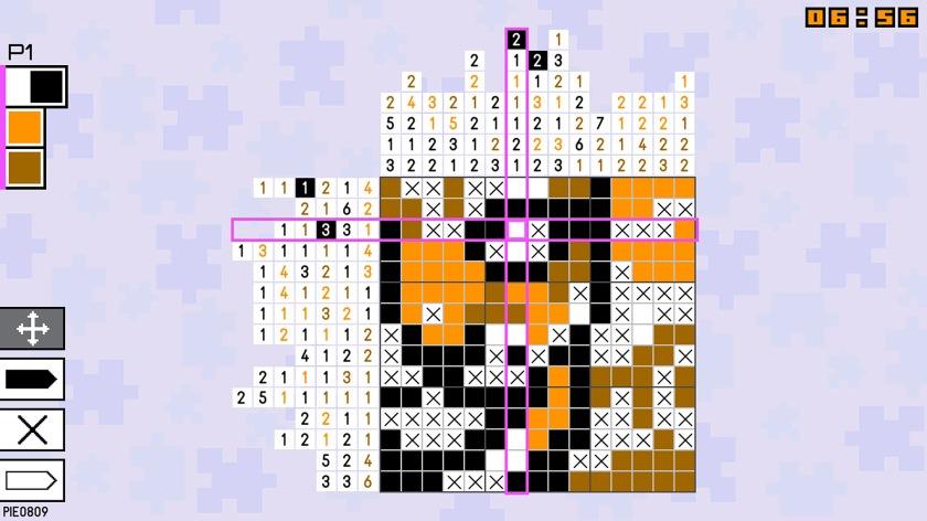 pic-a-pix pieces