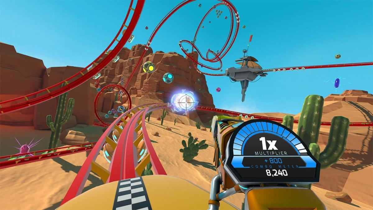 RollerCoaster Tycoon Joyride review(PSVR)