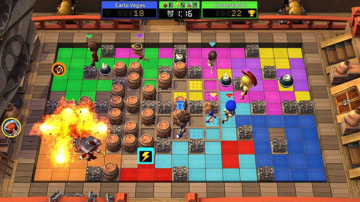 Blast Zone! Tournament review(PS4)
