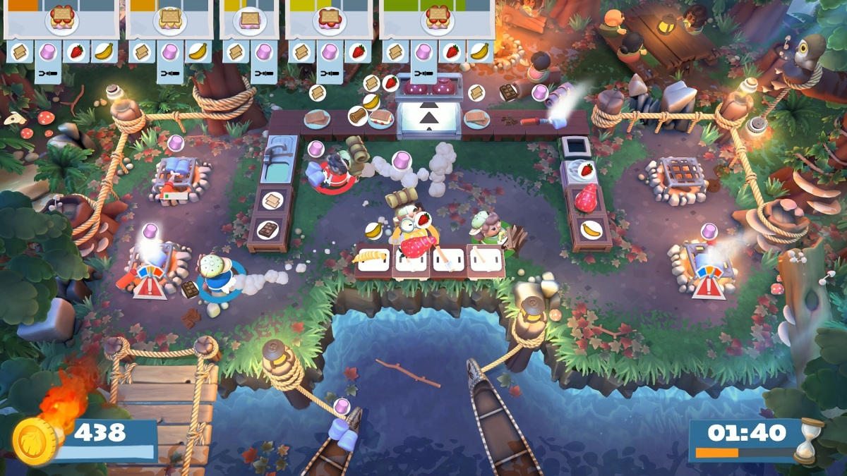 Overcooked 2: Campfire Cook Off DLC review (PS4)