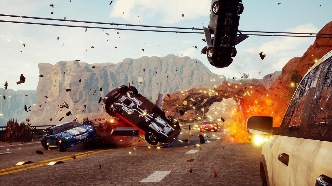 Dangerous Driving review(PS4)