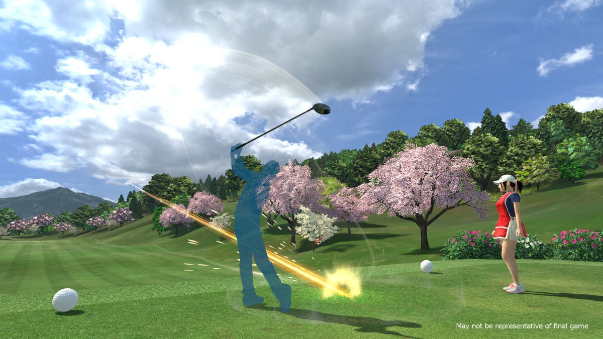 Everybody's Golf VR review(PSVR)