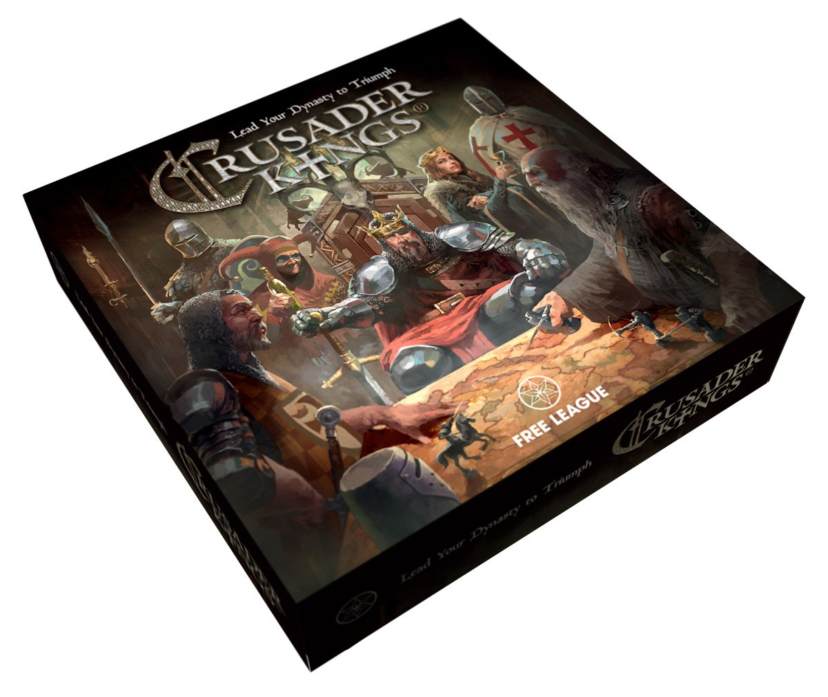 Crusader Kings – The Board Game review