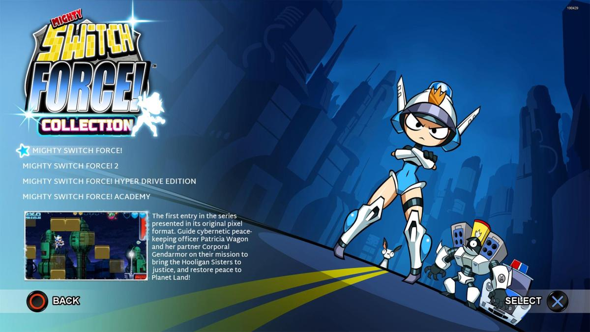 Mighty Switch Force! collection review(PS4)