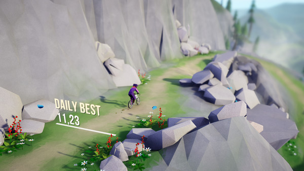 Lonely Mountains: Downhill review(PS4)