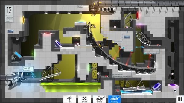 Bridge Constructor Portal: Portal Proficiency DLC impressions(PC)