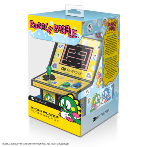 my arcade micro player bubble bobble
