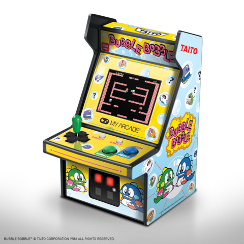My Arcade Bubble Bobble Micro Player review