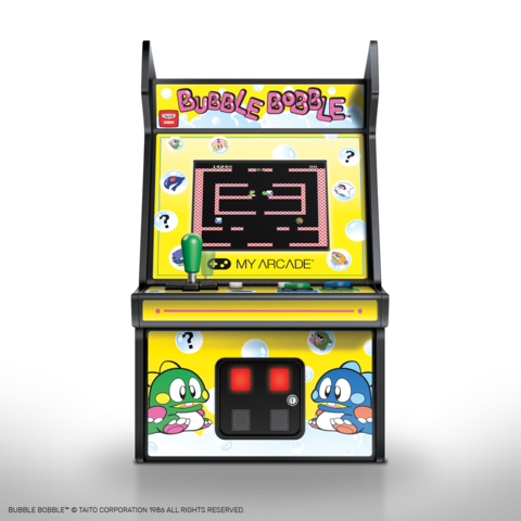 my arcade micro player bubble bobble3