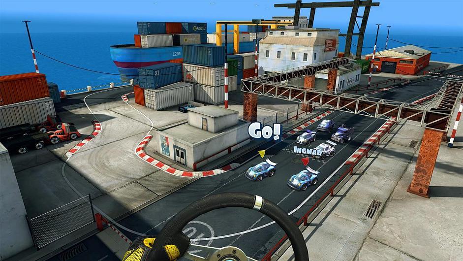 Mini Motor Racing X review(PSVR)