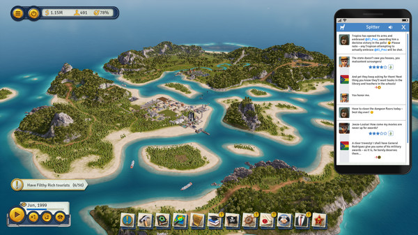 Tropico 6 gets new Spitter DLCcontent