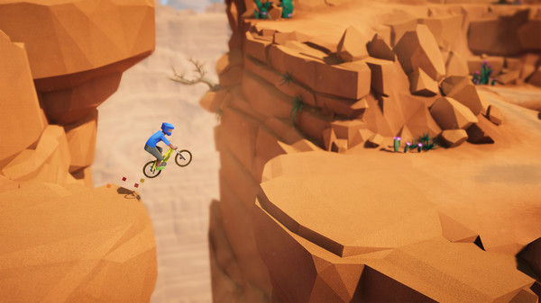Lonely Mountains: Downhill descends on the Switch