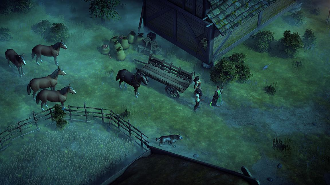 Pathfinder: Kingmaker Definitive Edition preview (PS4)
