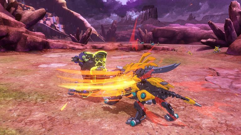 zoids wild - blast unleashed2